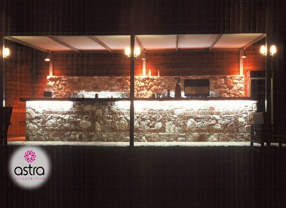 Το bar του Astra Private Club