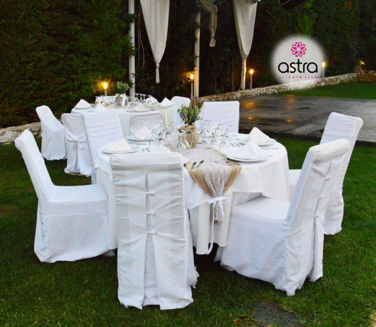 Ένα ονειρεμένο τραπέζι γάμου για τους καλεσμένους μιας δεξίωσης